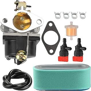 Coolwind 640065A 640065 Carburatotr + 36356 36357 Air Filter fit Tecumseh OHV110 OHV115 OHV120 OHV125 OHV130 OHV135 OV358EA Engine Lawn Mower
