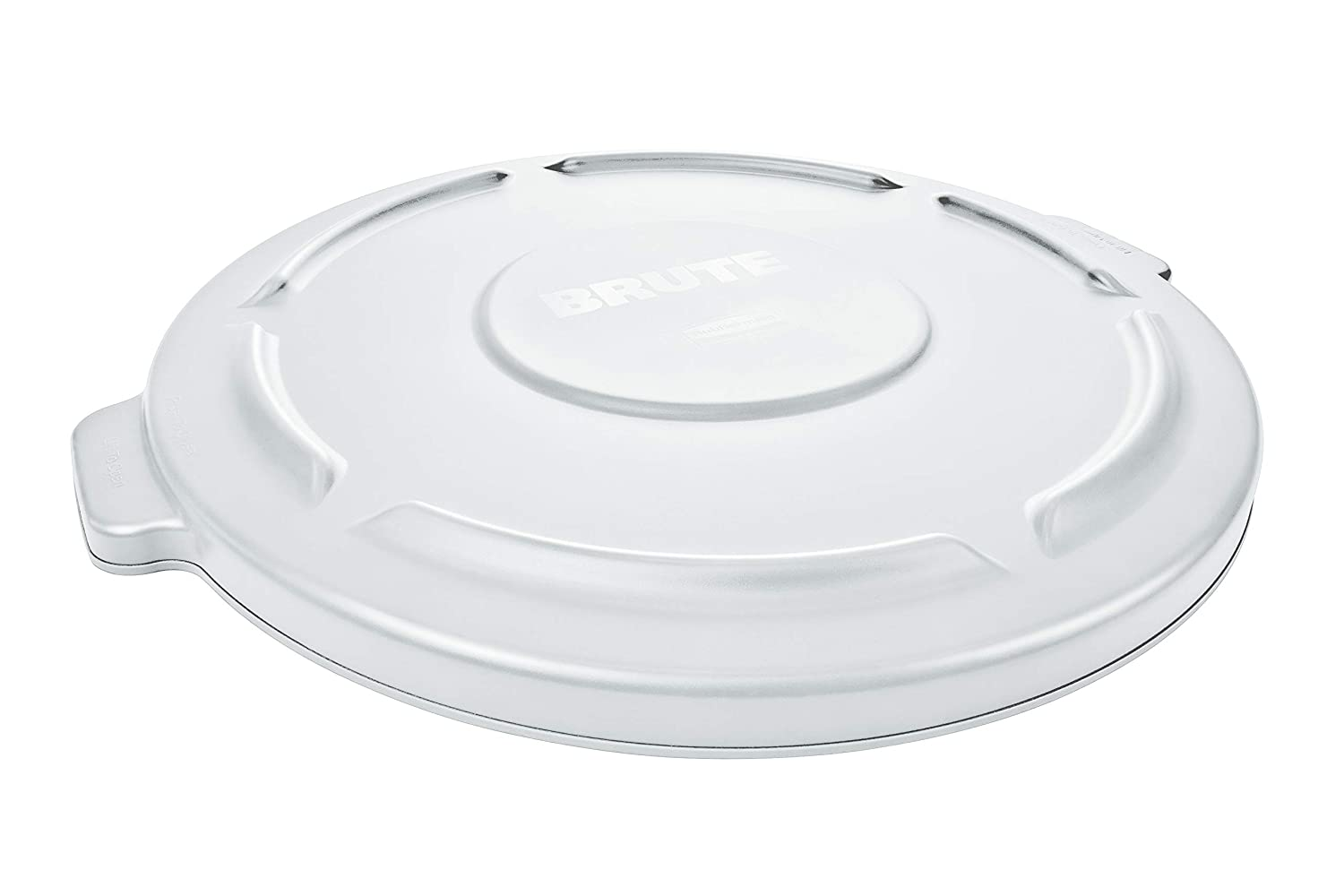 Rubbermaid Commercial FG263100WHT BRUTE Waste Fort Weekly update Worth Mall Round U Heavy-Duty