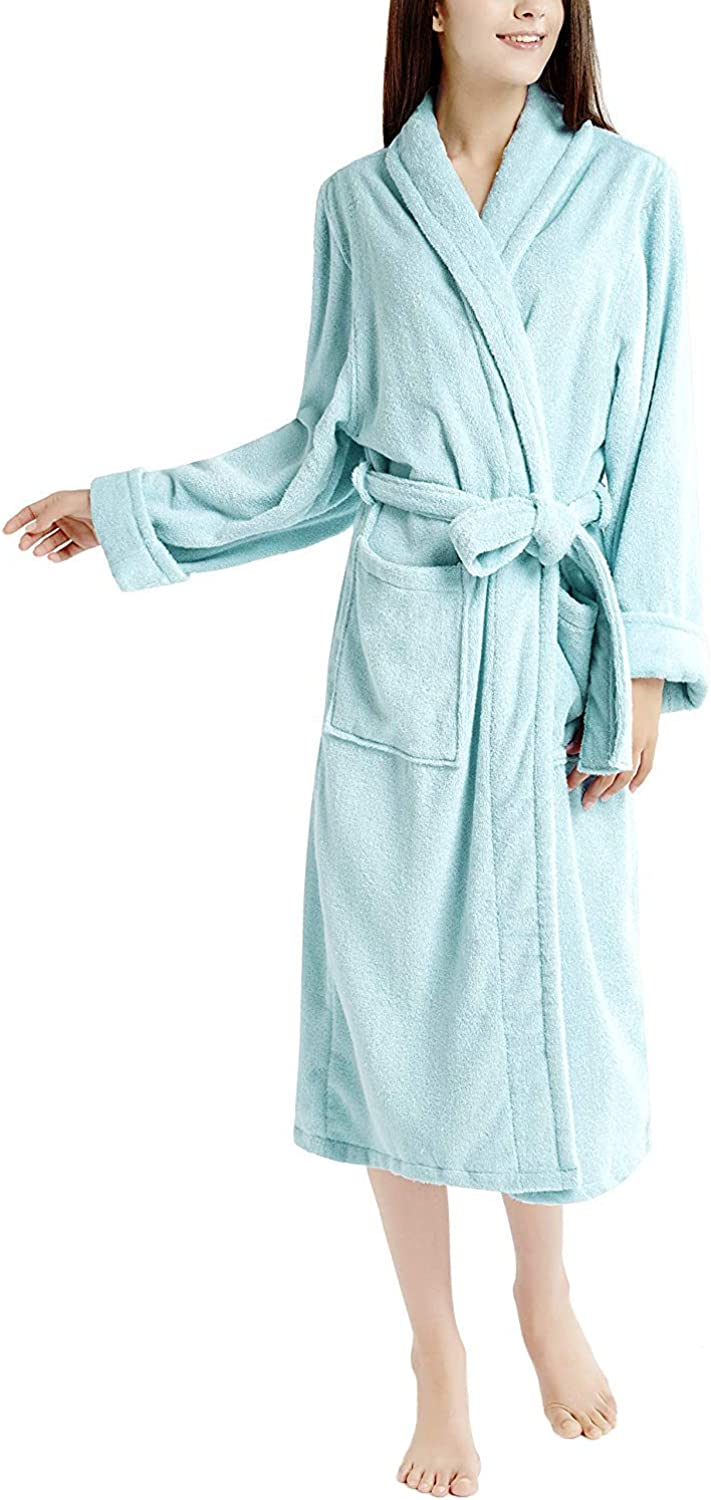 Ink+Ivy Towel Wraps for Women, Pure Cotton Terry Shower Wrap  Spa Towels with Straps and Velcro Closure