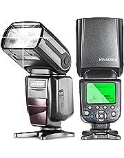 Neewer NW565EX i-TTL Flash Esclavo Speedlite para Nikon D7200 D7100 D7000 D5500 D5300 D5200 D5100 D5000 D3300 D3200 D3100 D3000 D700 D600 D500 D90 D80 D70 D60 D50 y otros Nikon DSLR Cámaras