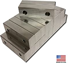 VJ-6A060201M-10 - MACHINED ALUMINUM VISE SOFT JAWS 10 PACK FOR A 6