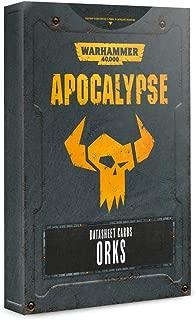 Warhammer 40K: Apocalypse Datasheets - Orks