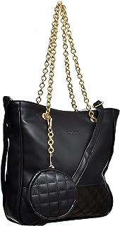 حقائب الكتف للنساء من سيلفيو توري - اسود