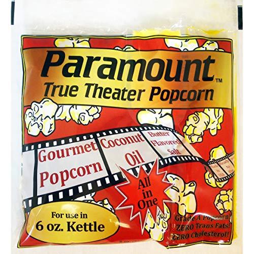 6oz Popcorn Packets - Perfect Portion Packs For 6 oz Popcorn Maker Machine Popper - Case of 24