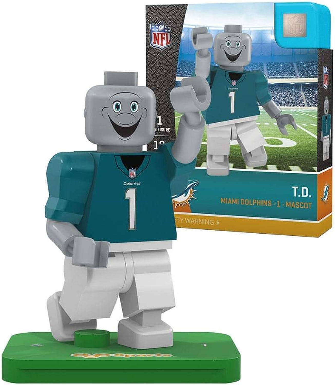 f2ab30b6 NFL Miami Dolphins Gen4 Limited Edition T.D. Mascot Mini Figure ...