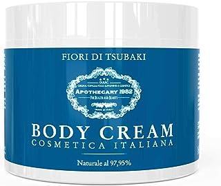 Dulàc - Body Cream Cosmetica Italiana - 500 ml - Crema Hidratante Corporal con Flores Tsubaki - piel suave, aterciopelada, reafirmada, hidratada - 97,95% natural - Apothecary 1982