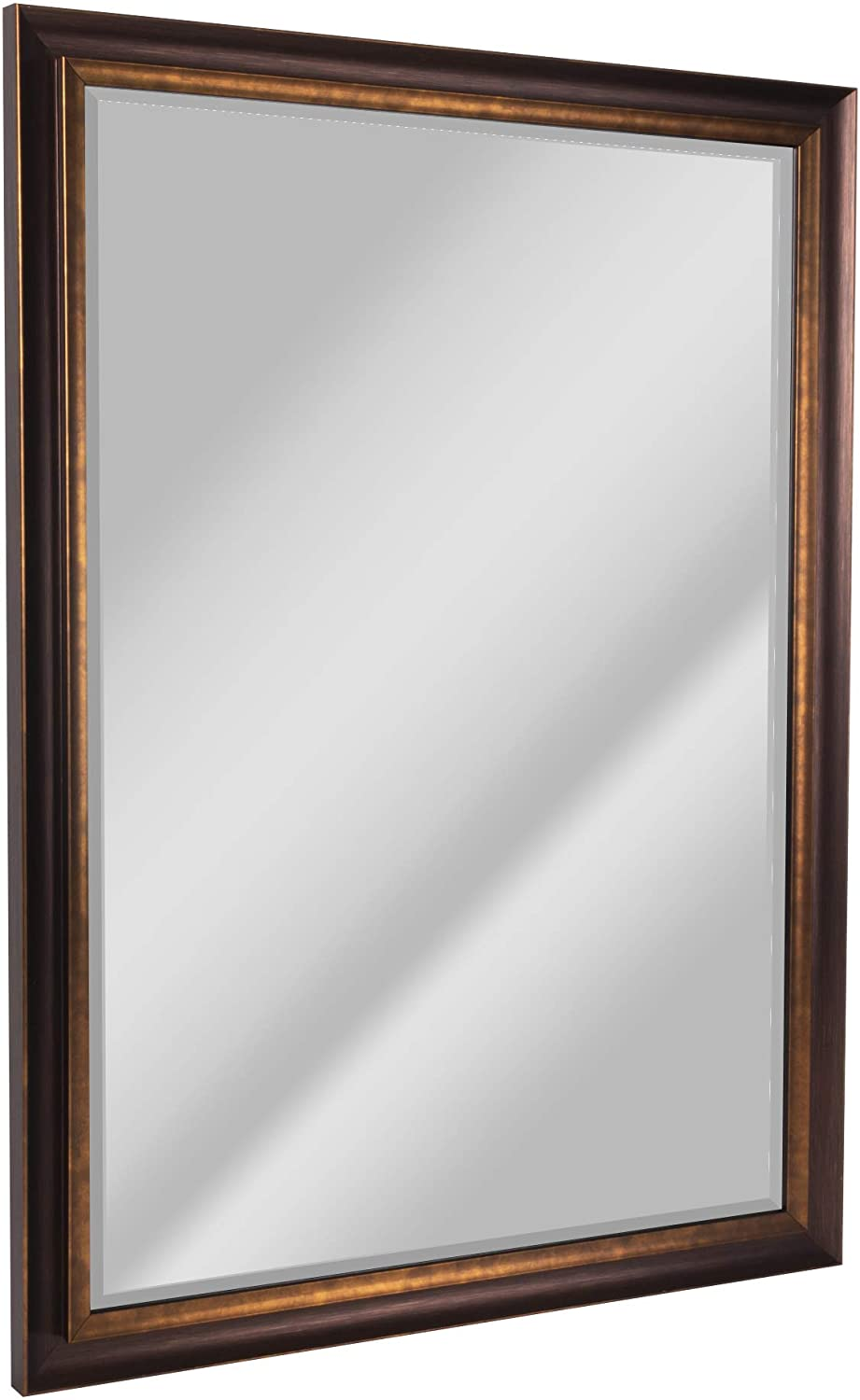 Head West Oil Rubbed Bronze Mirror, 28 by 40-Inch