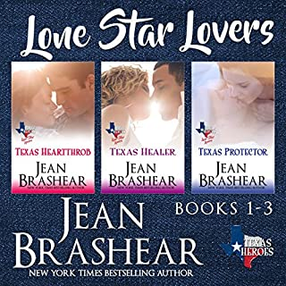 Lone Star Lovers Boxed Set     Texas Heroes              By:                                                                                                                                 Jean Brashear                               Narrated by:                                                                                                                                 Eric G. Dove                      Length: 19 hrs and 4 mins     11 ratings     Overall 4.7