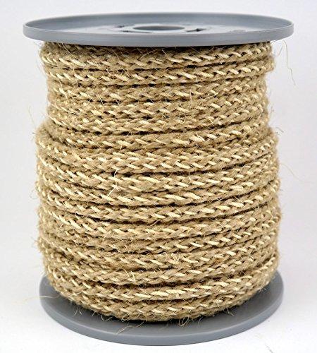 5 m Hanfseil ohne Zusatzstoffe Jute Seil Handlauf 25 mm