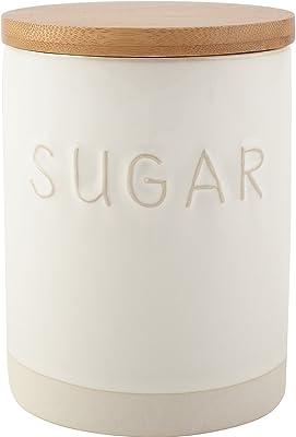 La Cafetiere Origins Embossed Stoneware Sugar Storage Jar
