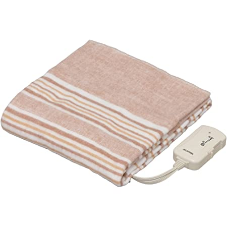 アイリスオーヤマ 【丸洗いOK】 電気敷き毛布 140×80cm EHB-1408-T