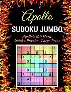 Sudoku Jumbo: Apollo's 100 Hard Sudoku Puzzles -Large Print