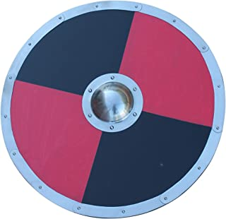 Armory Replicas Wooden Handmade Medieval Viking Bjorn Norman Combat 16g Shield