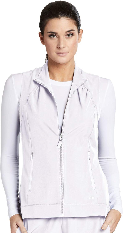 Barco One 5406 Women's Zip Front Solid Scrub Vest