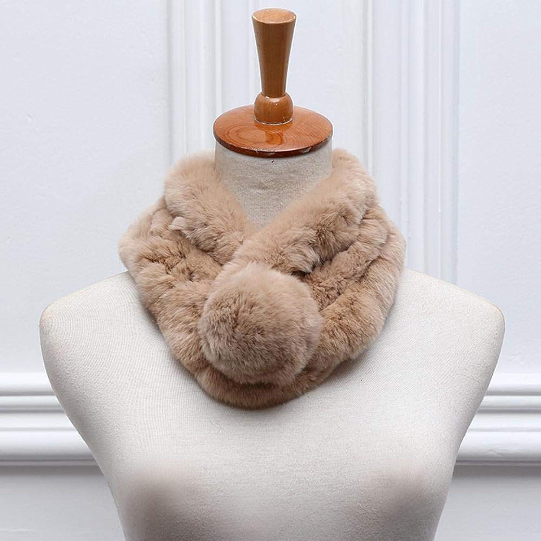 NuoEn Scarf, Warm Scarf Ladies Autumn and Winter Thickening Warm Three Tube Scarf