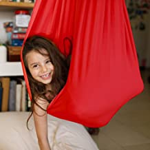 Therapy Swing for Kids with Special Needs, Breathable Silk Swing & Hammock, Indoor Physical Swing for Children, Cuddle Ham...