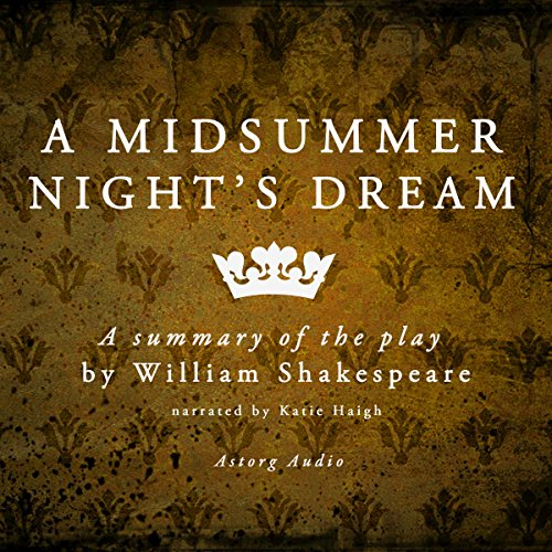 A Midsummer Night's Dream: a Summary of the Play by William Shakespeare audiobook cover art