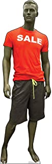 Advanced Graphics Sale Mannequin Life Size Cardboard Cutout Standup