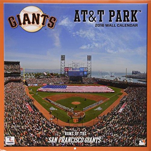Turner San Francisco Giants At & t Park 2016Stadion Wand Kalender, Sept. 2015-december 2016(8011968)