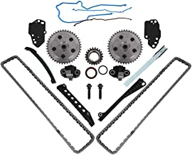 5.4 3V Triton Engine Timing Chain Kit, Camshaft Drive Phaser Repair Kit, Fit for 2005-2010 Ford Expedition F150 F250 F350 Super Duty & Lincoln Navigator Mark LT