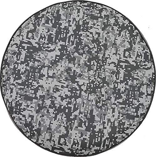 AllenPrint Tire Protector,Urban Digital Camo Denim - Cubiertas Funcionales para Llantas De Refacción De Grado De Concesionario para Ruedas De Camiones De Vehículos 70-75cm