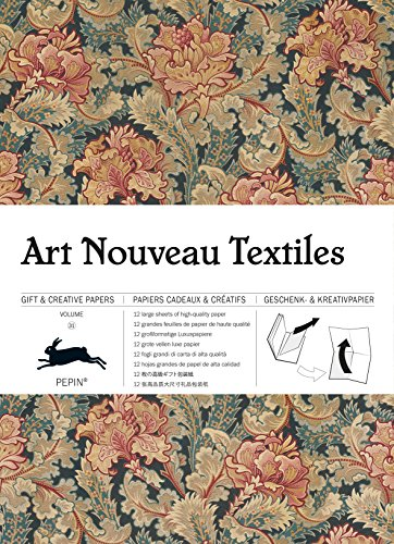 Art Nouveau Textiles: gift and creative paper book Vol 31 (Gift wrapping paper book (31))