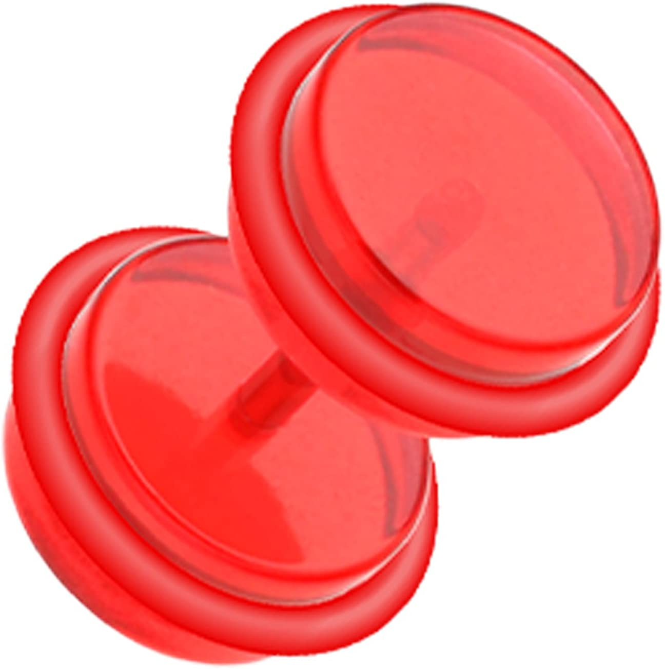 Solid Acrylic Fake Cheap sale Plug with O-Rings Size Ball 16 1.2mm Brand Cheap Sale Venue GA -