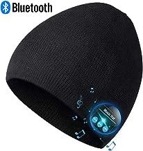 Bluetooth Beanie,Mens Gifts, Bluetooth Hat, Mens Beanie Hat Headphones Beanie, MIC for Hands-Free Call,Music,Running, Skiing,Women Mens Gifts. Electronic Gifts for Men, Fashion Gifts for Women