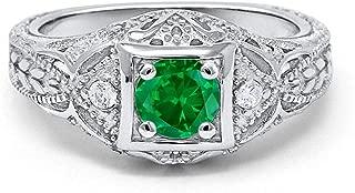 Best antique emerald wedding rings Reviews