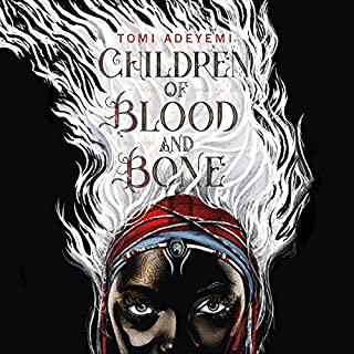Children of Blood and Bone                   Written by:                                                                                                                                 Tomi Adeyemi                               Narrated by:                                                                                                                                 Bahni Turpin                      Length: 17 hrs and 44 mins     216 ratings     Overall 4.5