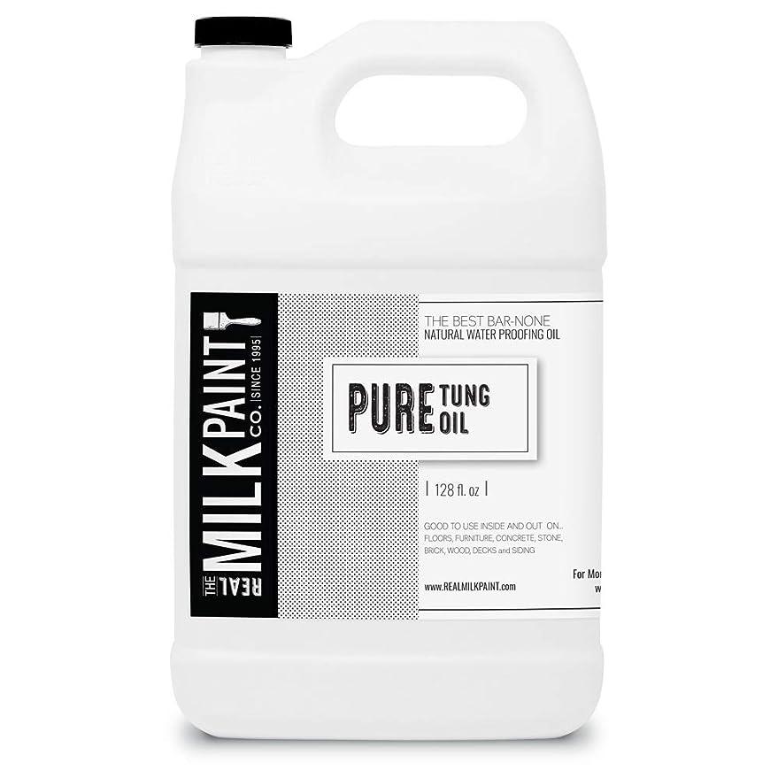ドル部屋を掃除する放射するRealミルクペイントPure Tungオイル Gallon