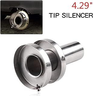 Stainless Steel Exhaust Muffler Exhaust Canister Silencer 4.29