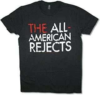 The All American Rejects Overlay Non Tour Mens Black T Shirt
