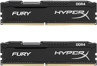 Kingston Technology HyperX Fury Black 32GB 2666MHz DDR4 CL16 DIMM Kit of 2 (HX426C16FBK2/32)