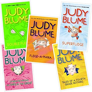 A BOX of FUDGE - JUDY BLUME [Scholastic Paperback Box Set of 5] (Fudge Series)
