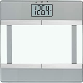InstaTrack igital Bathroom Scale with Body Fat/BMI Monitoring Plus Athlete Mode, One Size, Silver