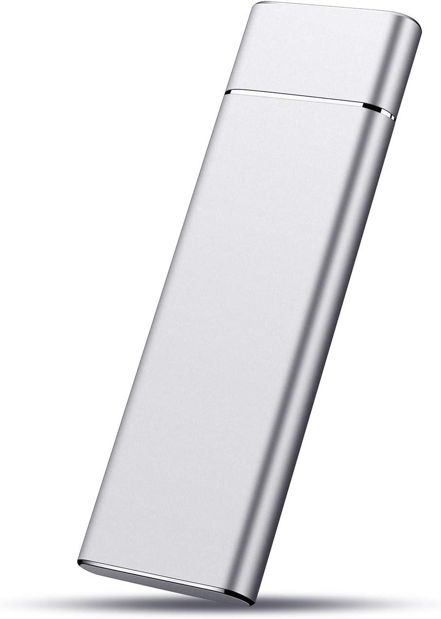Desktop Disco Duro Externo 1 TB Mac Chromebook. MacBook USB3.1 Ultrafino Dise/ño Met/álico HDD Port/átil para PC Laptop 1TB,Dorado Xbox One