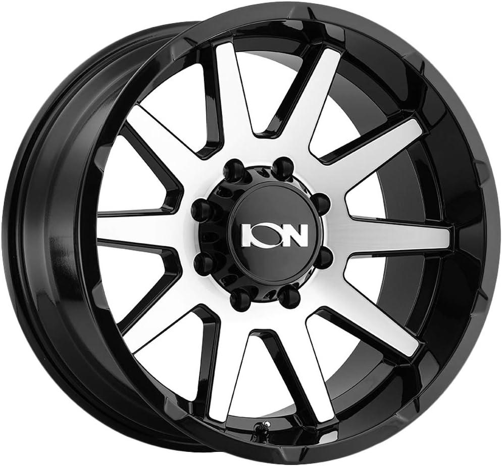 Ion Alloy Luxury goods Max 51% OFF 143 Custom Wheel 17x9 Bolt Pattern Offset -12 6x135