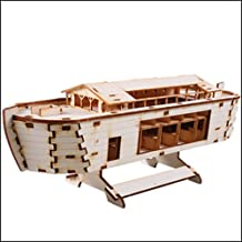 wooden noah's ark model kit