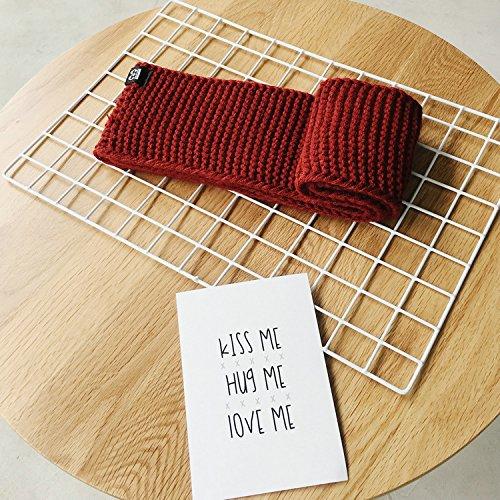 Winter Herfst Warm Verdikking Breien Sjaal voor Kinderen, 5