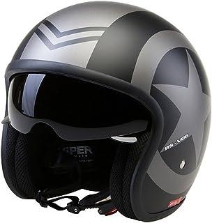 Casco de la Motocicleta Jet Casco Cascos Abiertos VIPER RS-