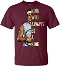 Rafael Nadal King Will Always Be A King King of Clay Fans T-Shirt | Tennis French Open El Duodecimo Tee