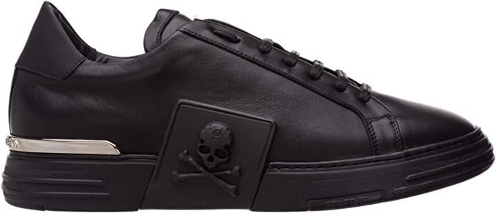 scarpe philipp plein sneakers phantom kick$ uomo black a19s-msc2275-ple075n