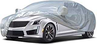 Audew Car Cover Sedan Cover 2019 Upgrade UV Protection/Waterproof/Windproof/Dustproof/Scratch Resistant Outdoor Full Car Covers for Sedan L (177''-191'')