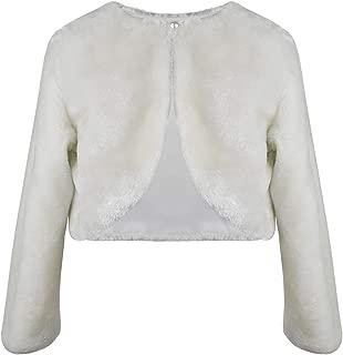 BNY Corner Flower Girl Pleated Satin Bolero Button Jacket Dress Cover Up Shrug