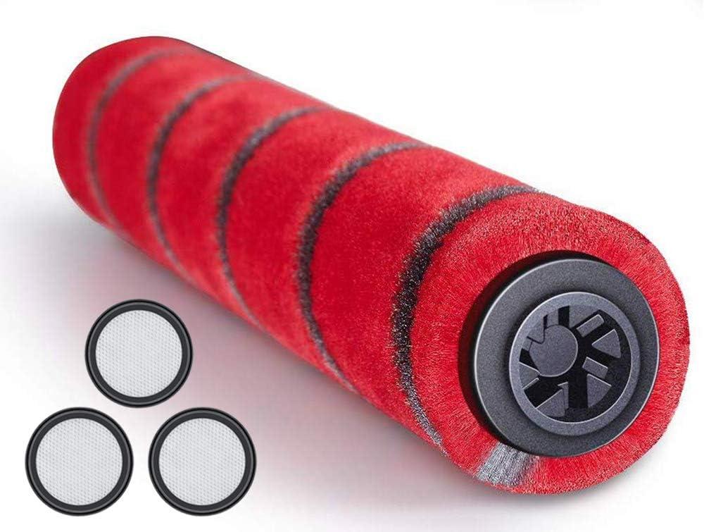 LongRong - Cepillo principal con 3 filtros HEPA para aspiradora Proscenic P9, P9 GTS