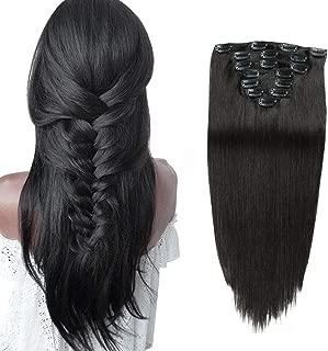 Hair Extensions Clip in Human Hair 14