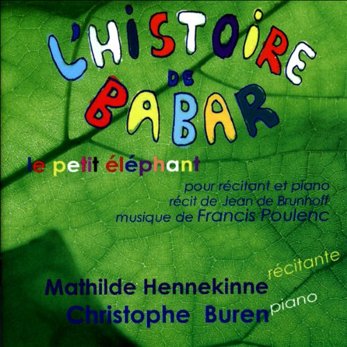 L'histoire de Babar  audiobook cover art