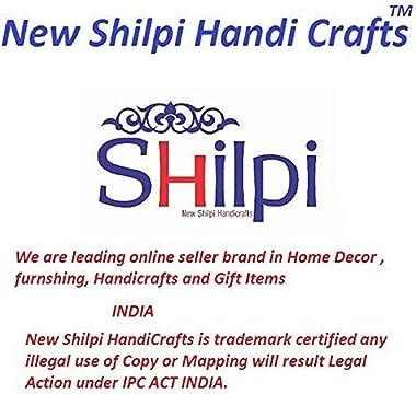 """Shilpi Handicraft Wooden Storage Cabinet 17.64"""" W x 31.20"""" H"""