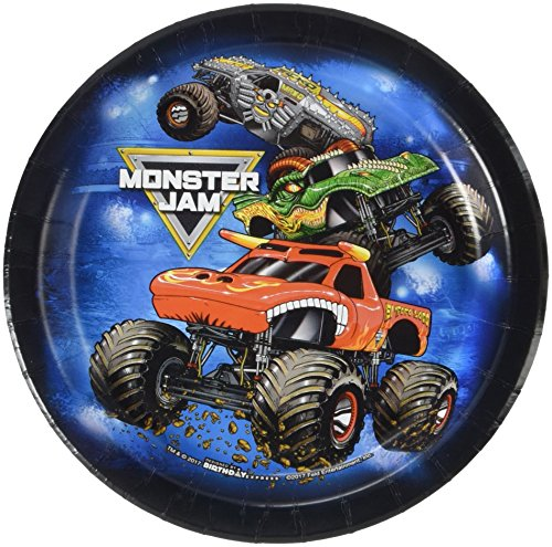 Top monster jam party supplies plates and napkins for 2021